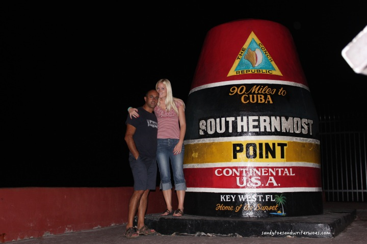 The most Southern point in the USA