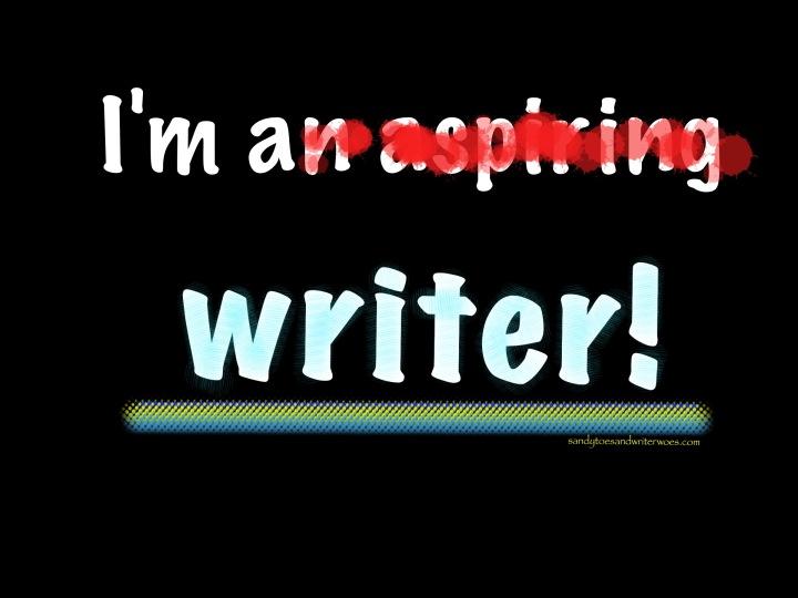 I'm a writer